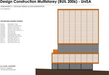 detailed facade design architecture