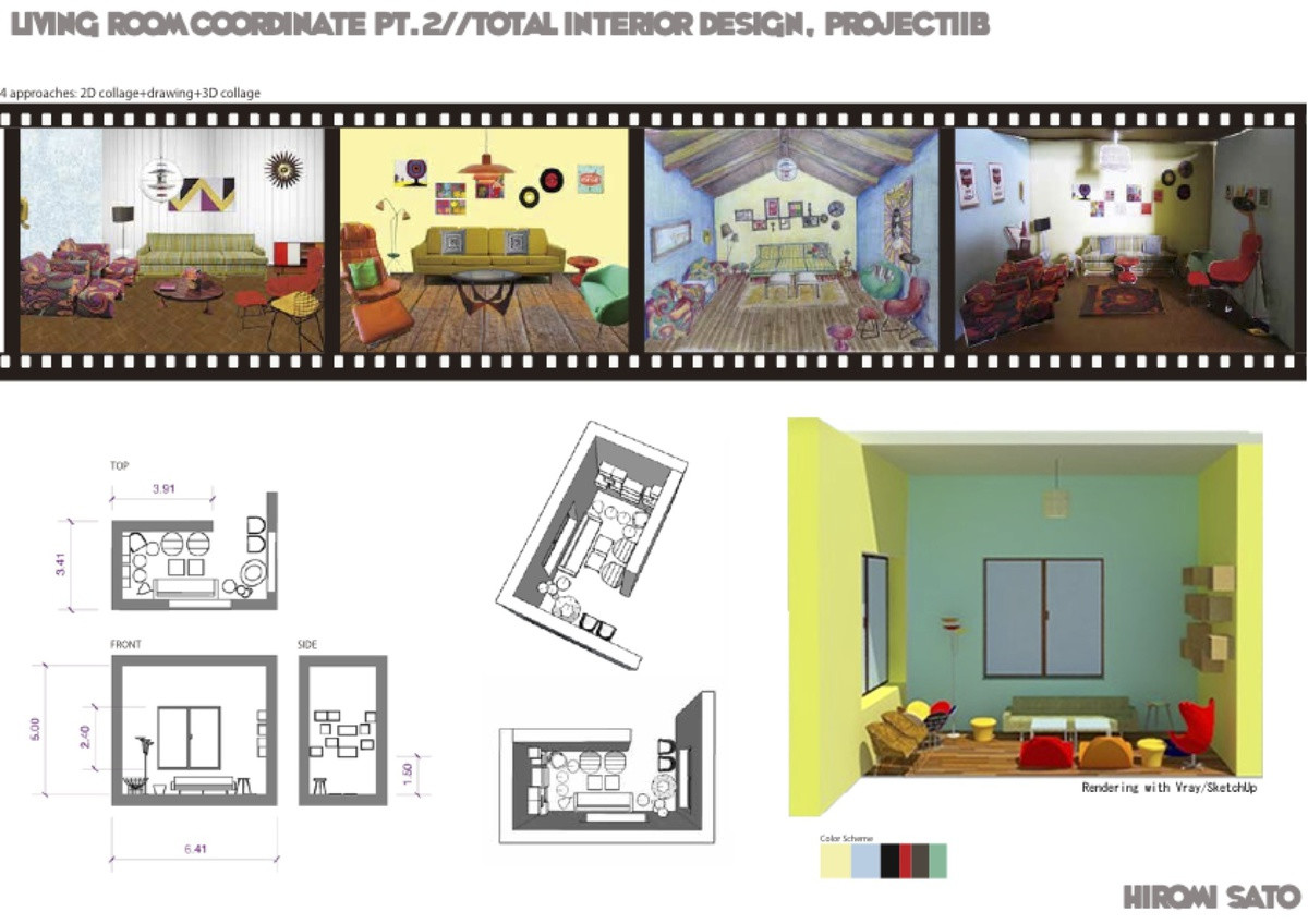 Amazing 1960s Living Room Composition - Living Room Design Ideas ...