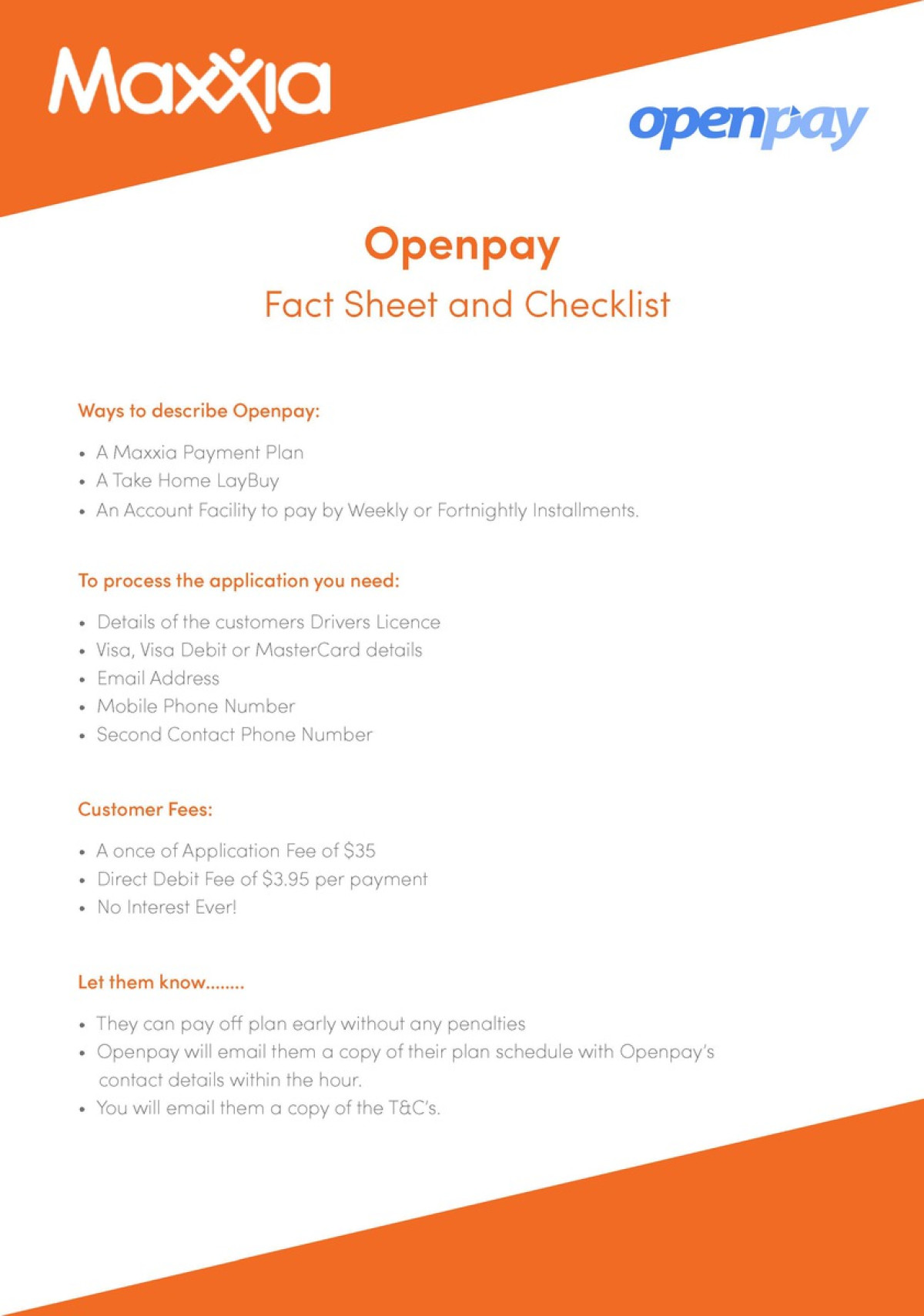 Openpay - Francesca Gorman Portfolio - The Loop